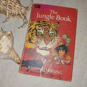 1963  Vintage copy of THE JUNGLE BOOK by Kipling